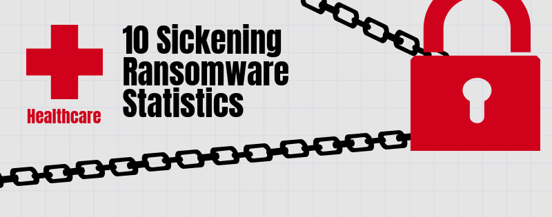 healthcare ransomware statistics banner